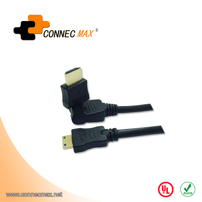 HDMI 360 Degree Male to Male Rotating Cable