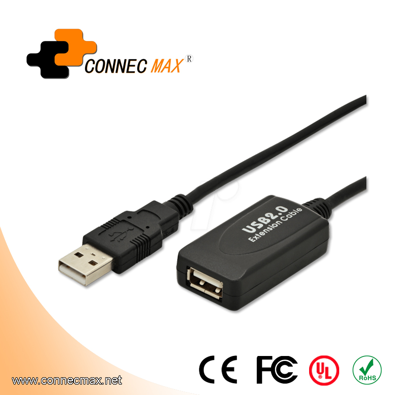 10m USB 2.0 Repeater Cable