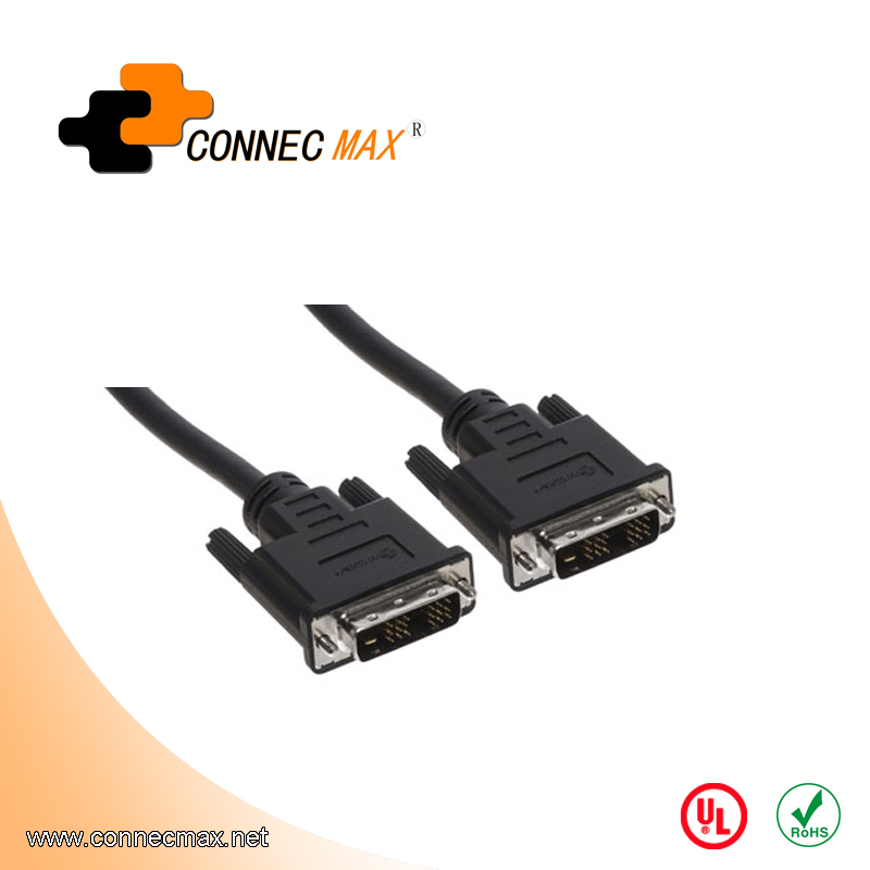 DVI-D 18+1 Male to DVI-D Male Single-Link Cable