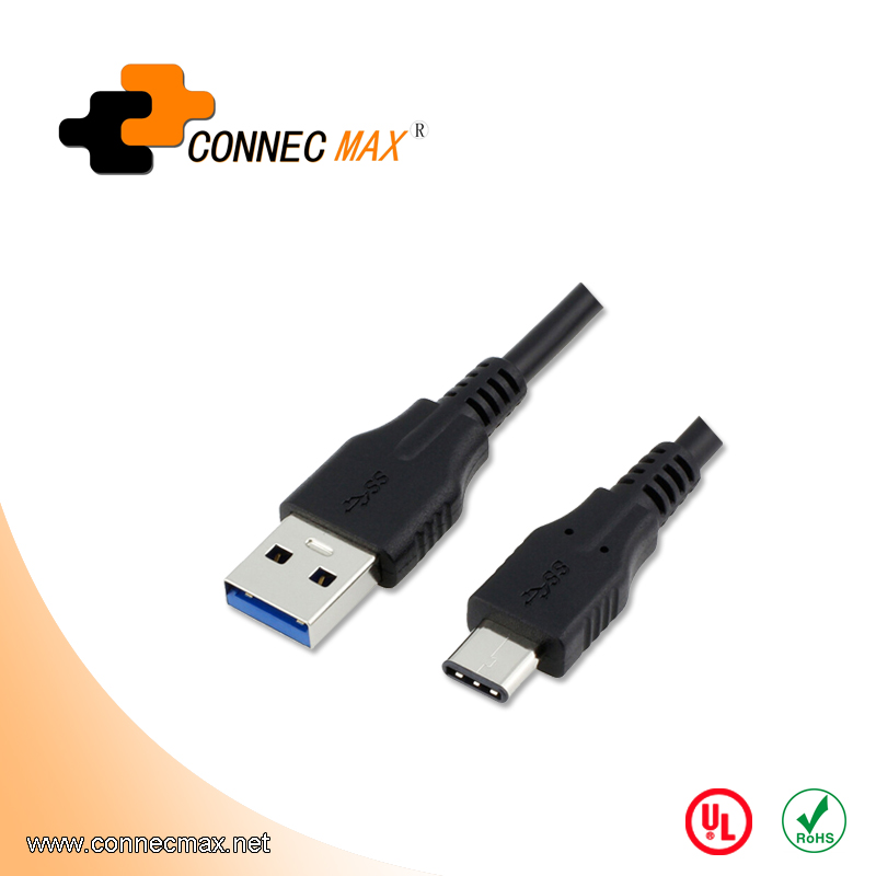 USB 3.1 type C to USB 3.0 AM male to male cable