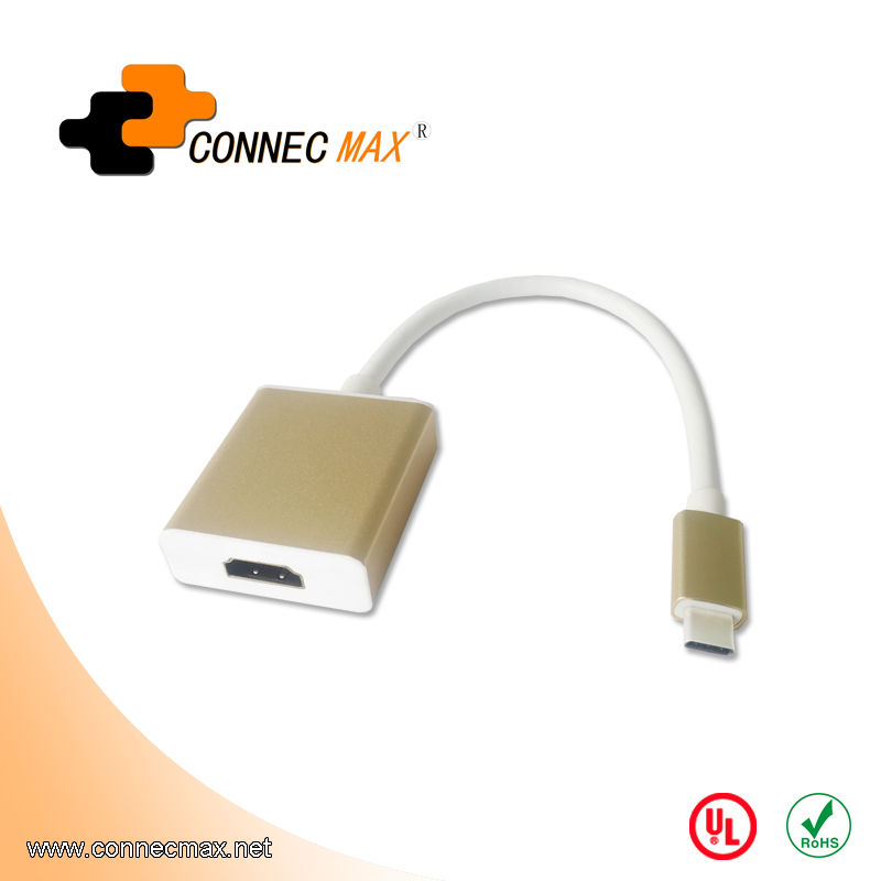 USB 3.1 type C to HDMI male to female converter
