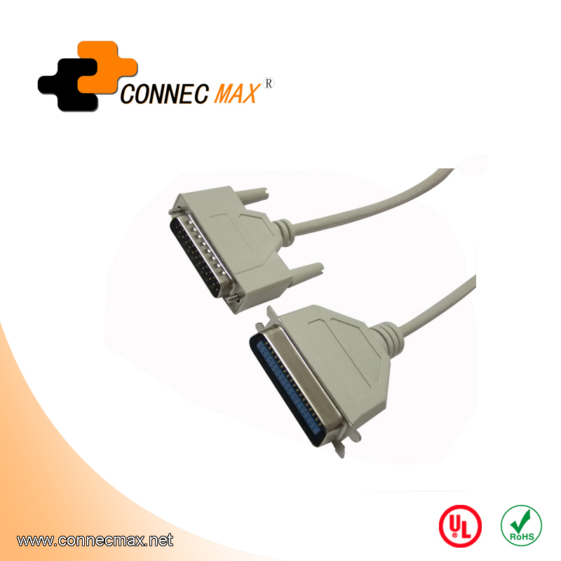 DB25 to CN36 Parallel Printer Cable